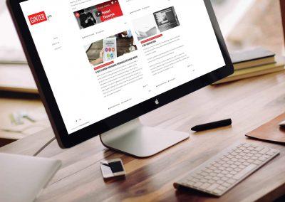 Strona internetowa Wizytówka & Blog
