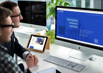 Strona internetowa dla Kancelarii Podatkowej