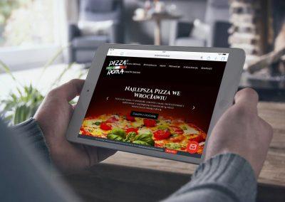 Strona internetowa dla Restauracji & Pizzerii