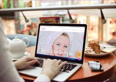 Strona internetowa dla SPA & Wellness