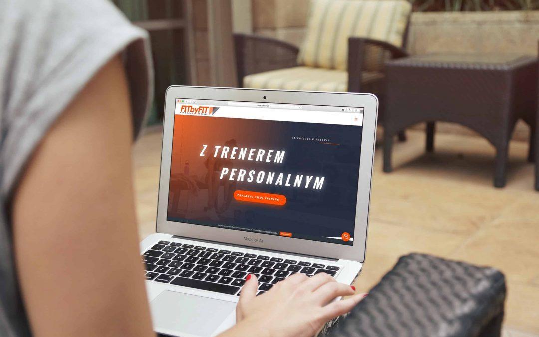 Strona internetowa dla Trenera Personalnego