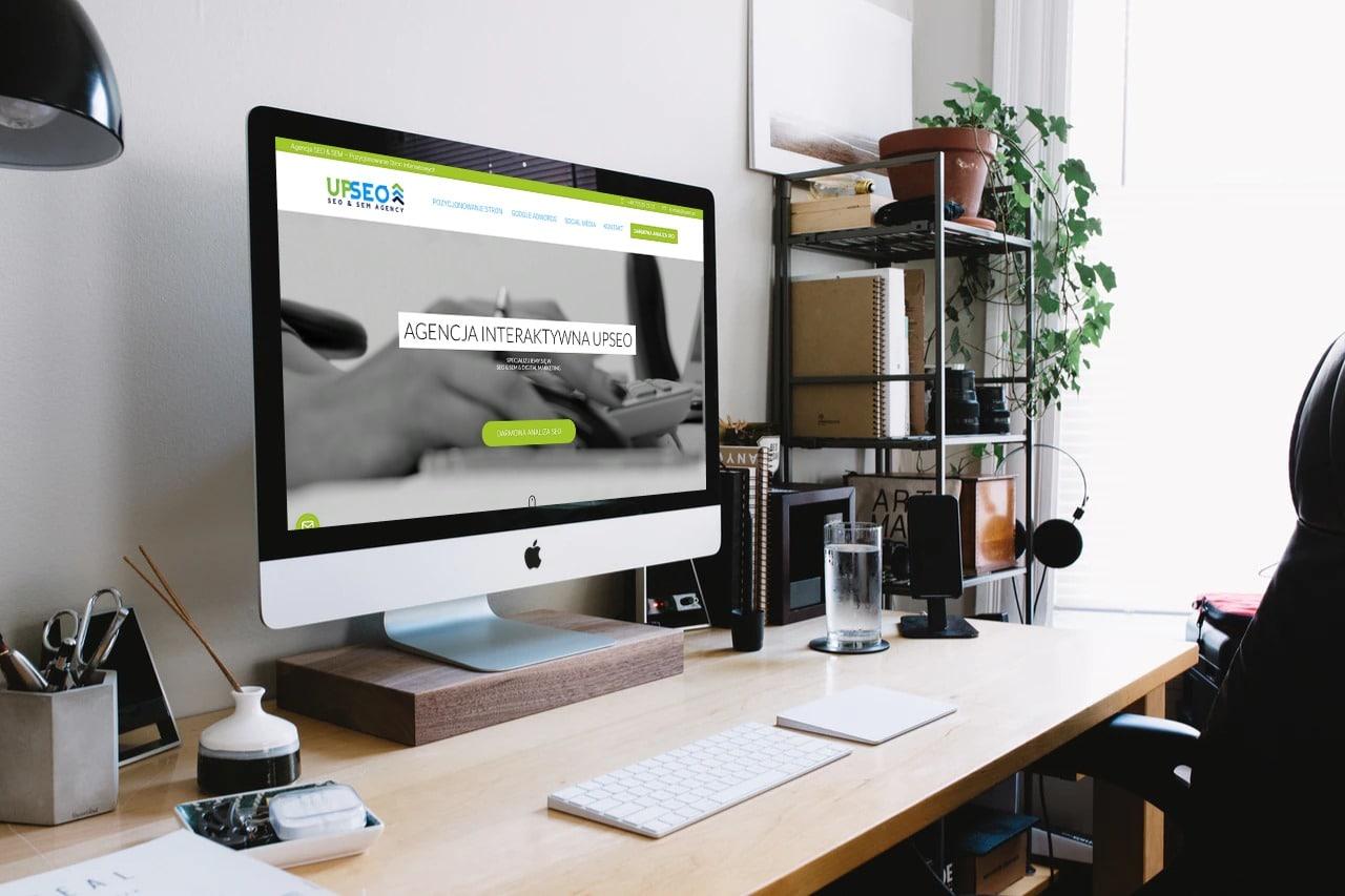 Projekt strony internetowej dla agencji interaktywnej - desktop - Agencja Marketingowa OzonMedia z Wrocławia