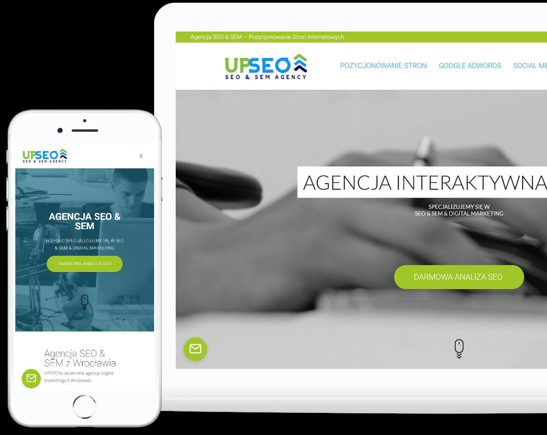 Projekt strony internetowej dla agencji se - OzonMedia