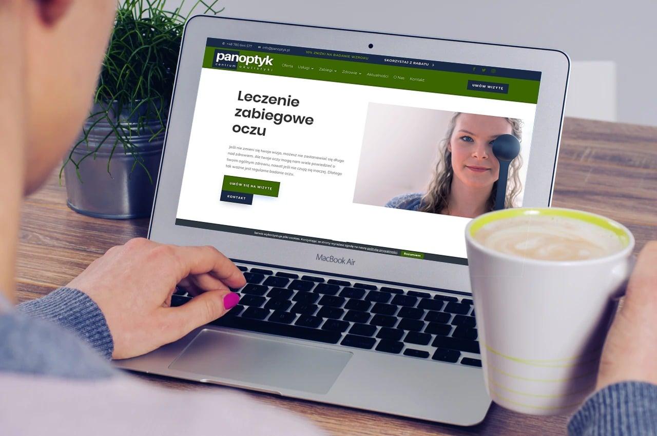 strona internetowa dla okulisty i optometry wroclaw - agencja marketingowa OzonMedia (6)