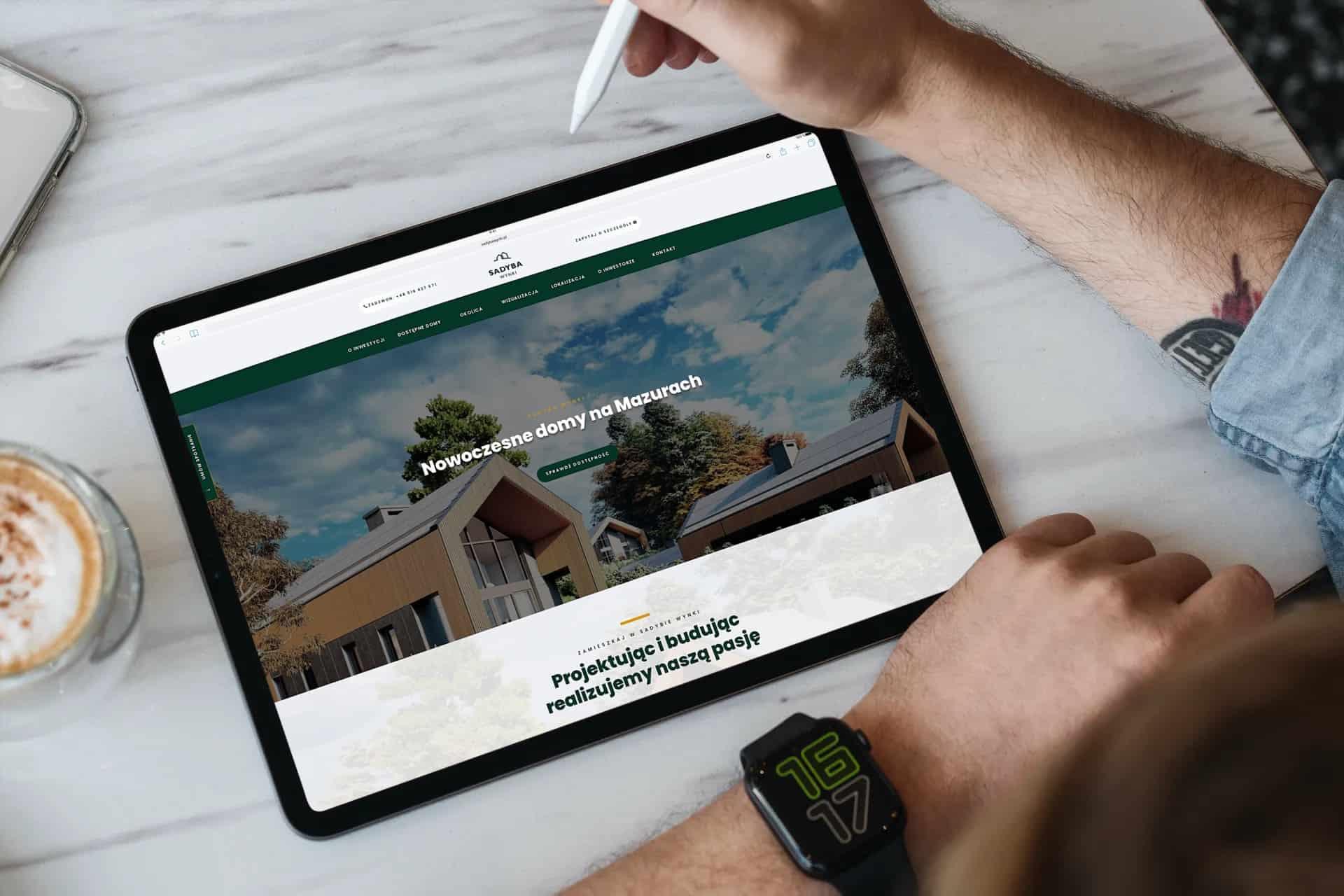 strona internetowa dla developera z Warszawystrona internetowa dla developera z Warszawy