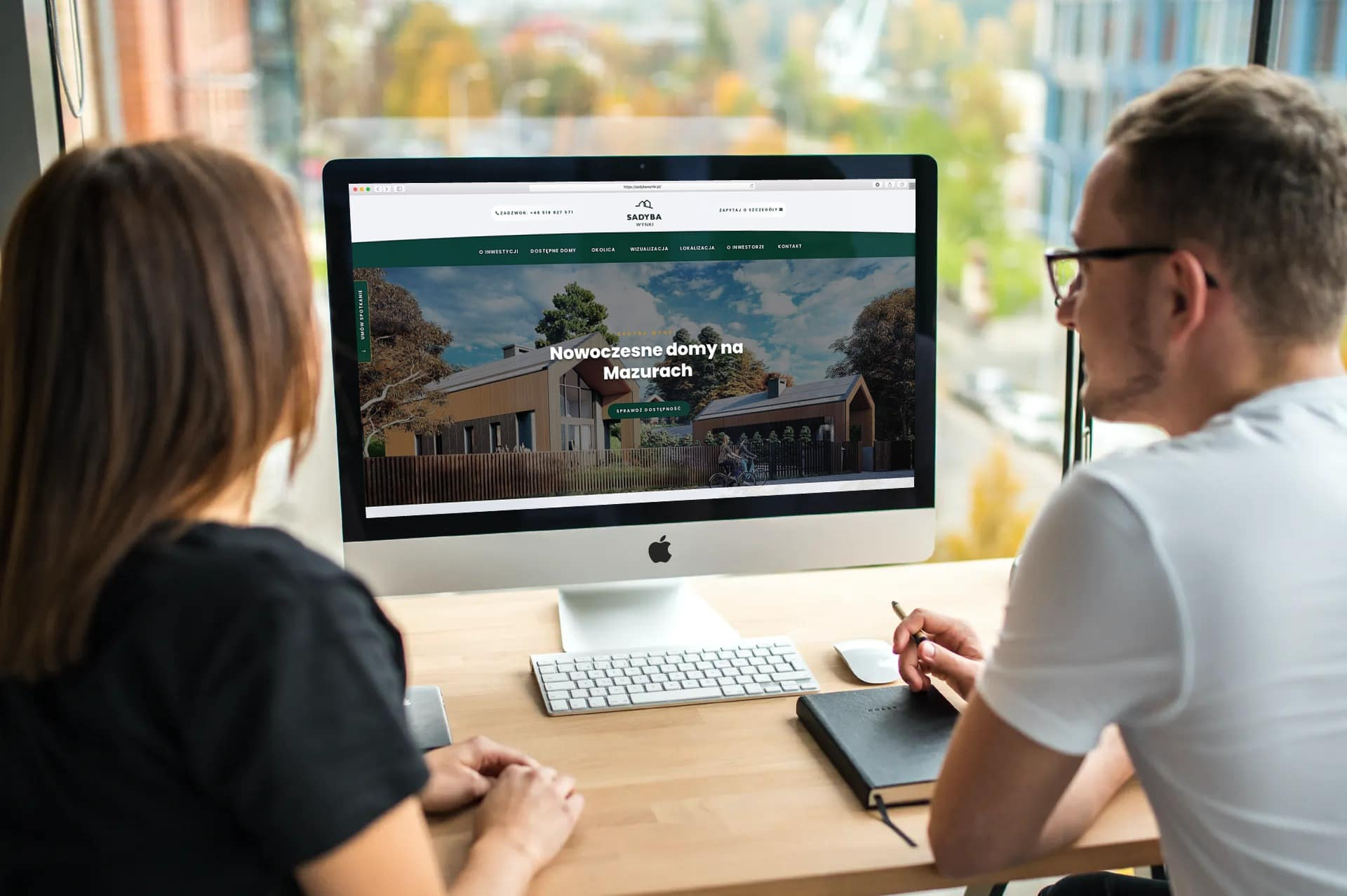 strona internetowa dla developera z Warszawy - OzonMedia