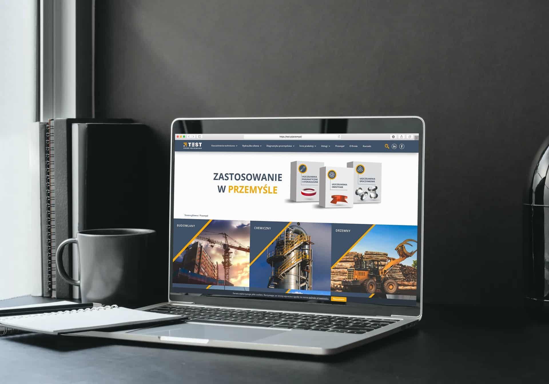 strona internetowa dla teat.pl - Agencja Marketingowa OzonMedia Wrocław