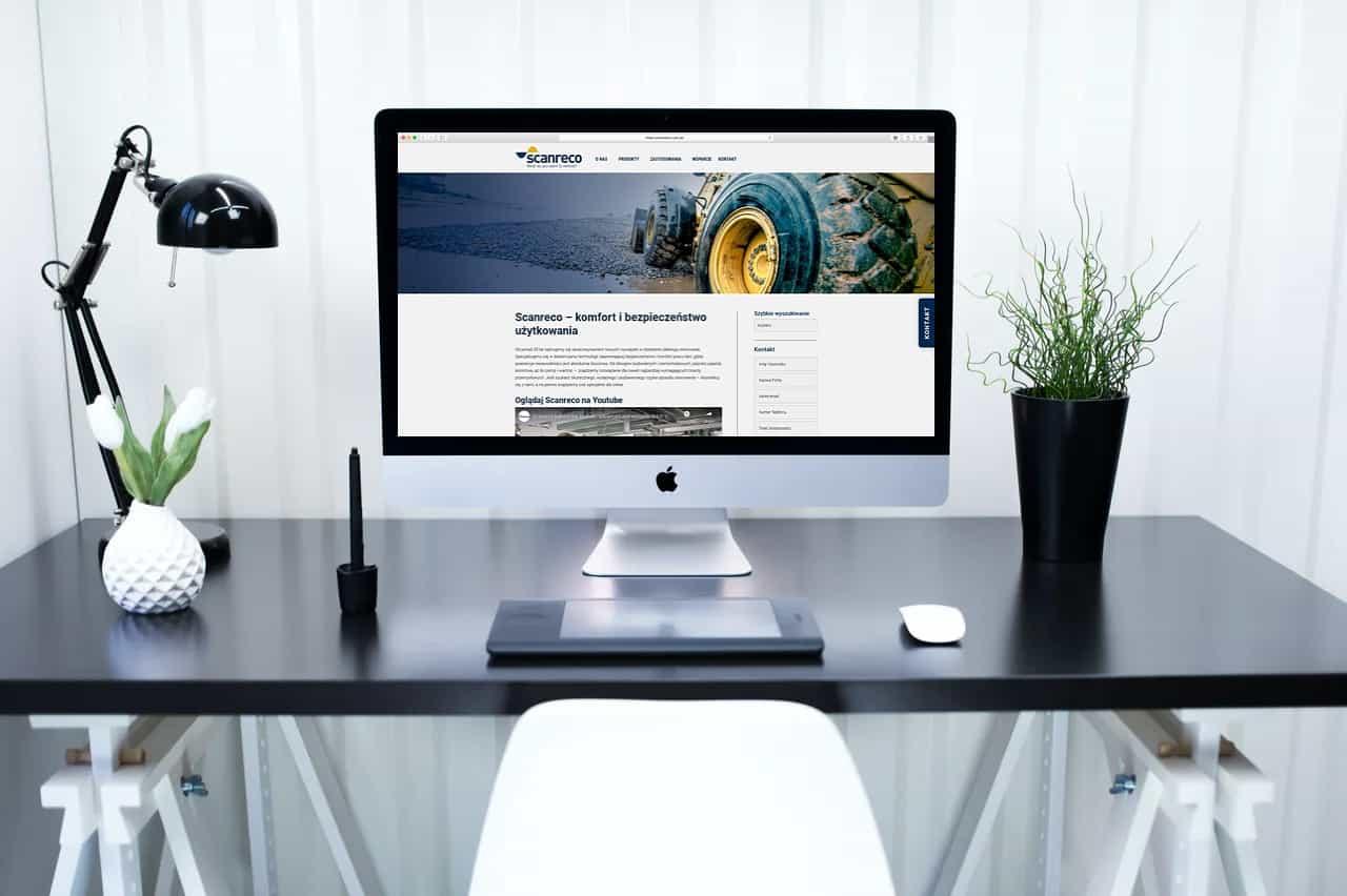 strona internetowa dla producenta