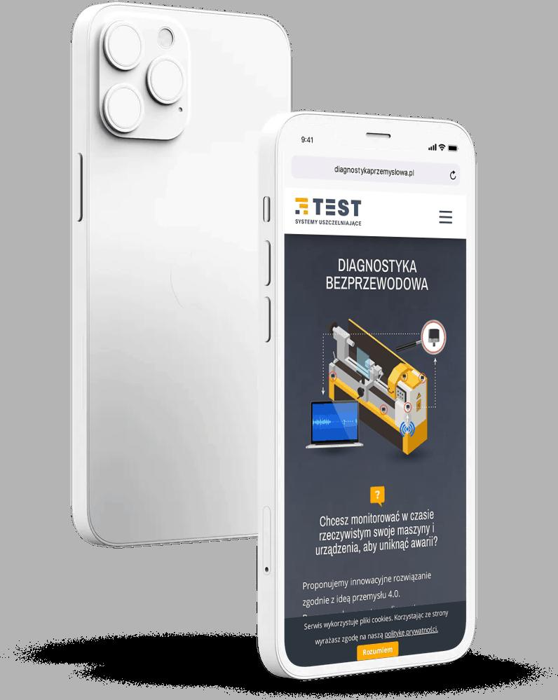 strona internetowa dla firmy przemysłowej rwd mobile