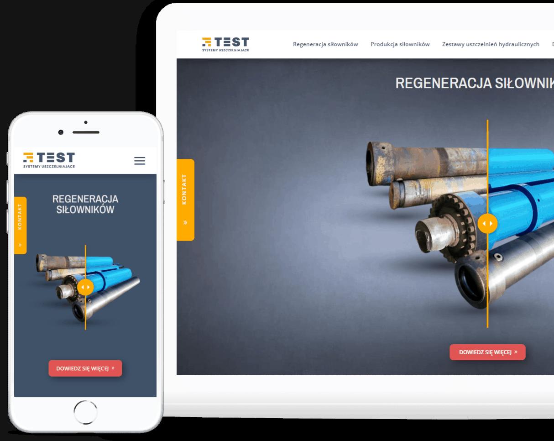 projekt strony internetowej dla firmy usługowej - agencja marketingowa OzonMedia Wrocław (1)