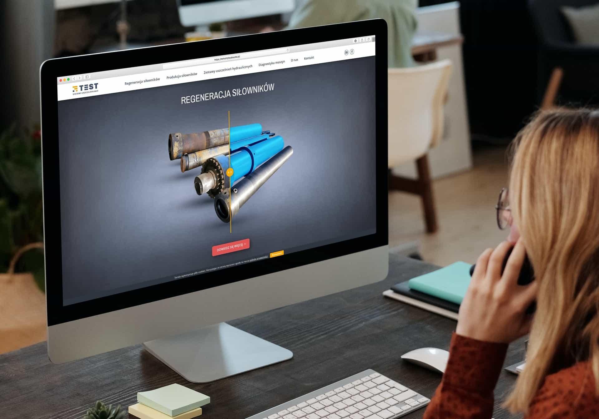 projekt strony internetowej dla firmy usługowej - agencja marketingowa OzonMedia Wrocław (2)