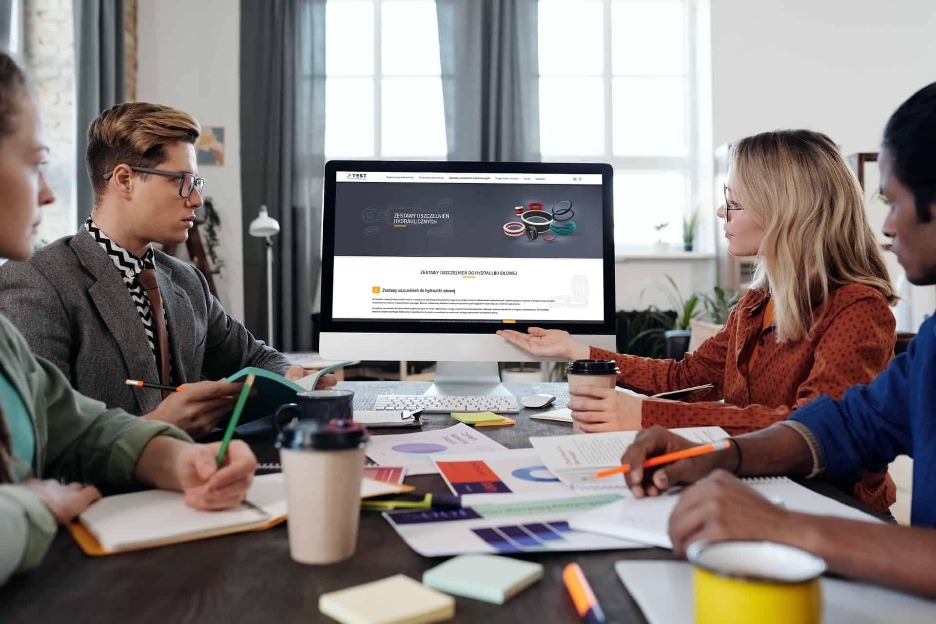 projekt strony internetowej dla firmy usługowej - agencja marketingowa OzonMedia Wrocław (3)