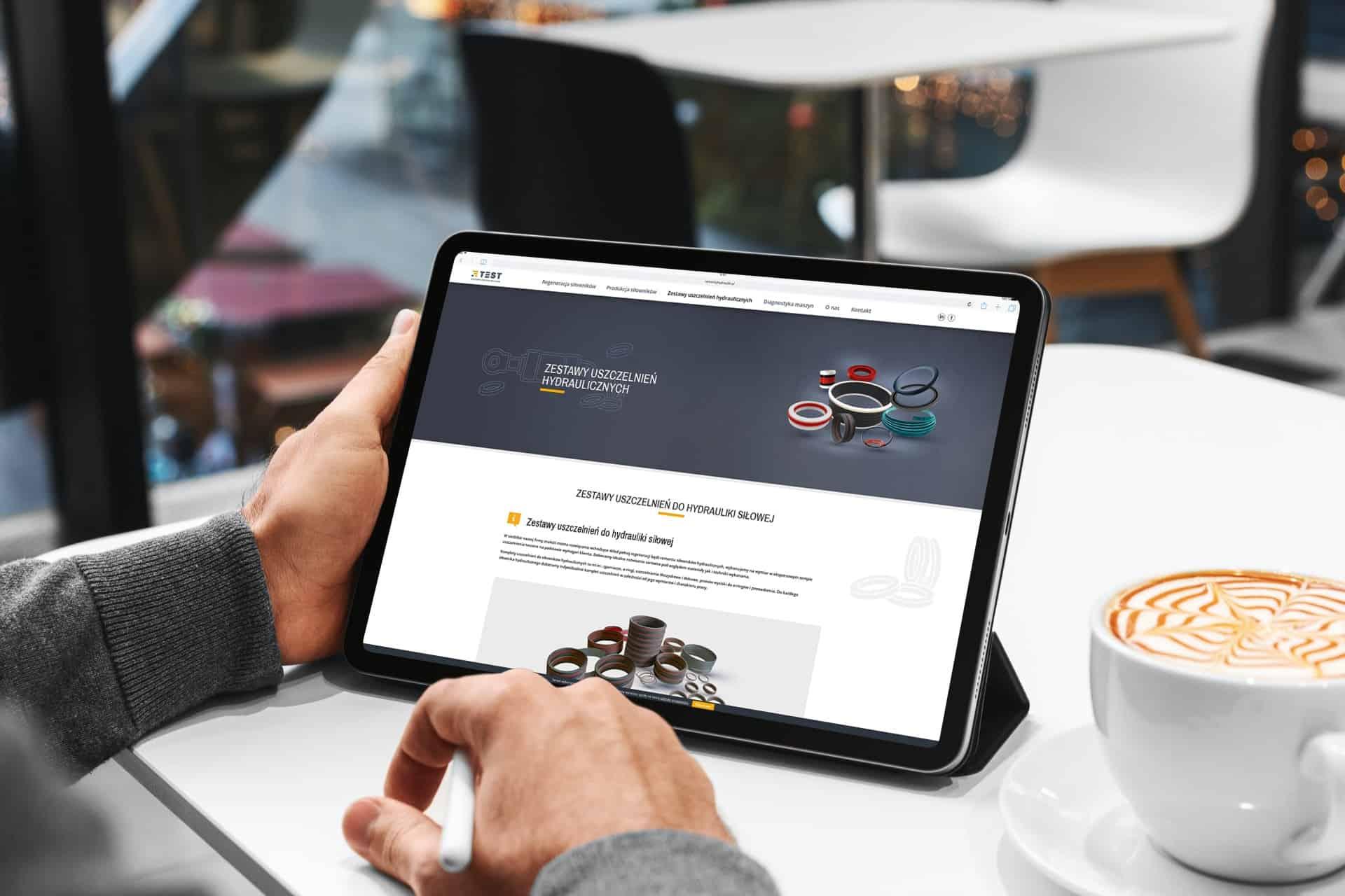 projekt strony internetowej dla firmy usługowej - agencja marketingowa OzonMedia Wrocław (4)