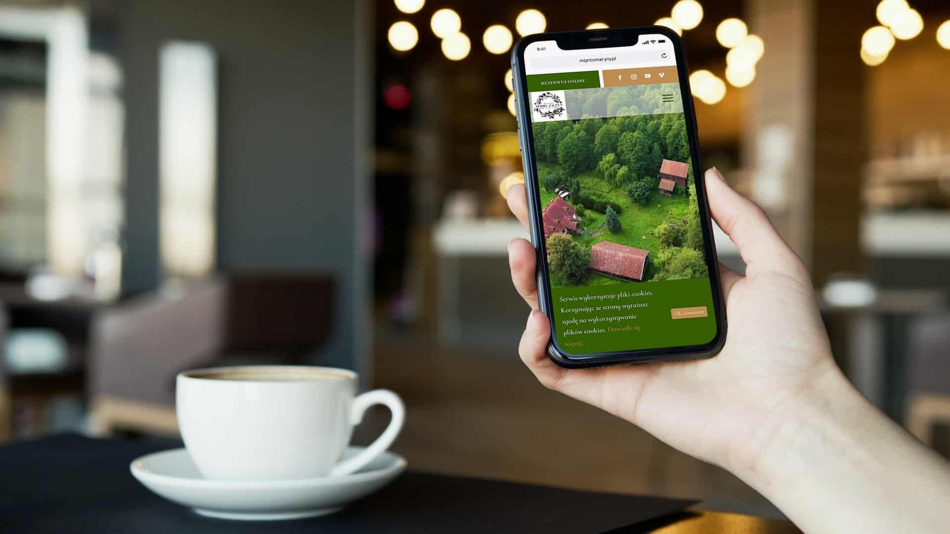 strona internetowa dla siedliska i agroturystyki - Agencja Marketingowa OzonMedia (1)