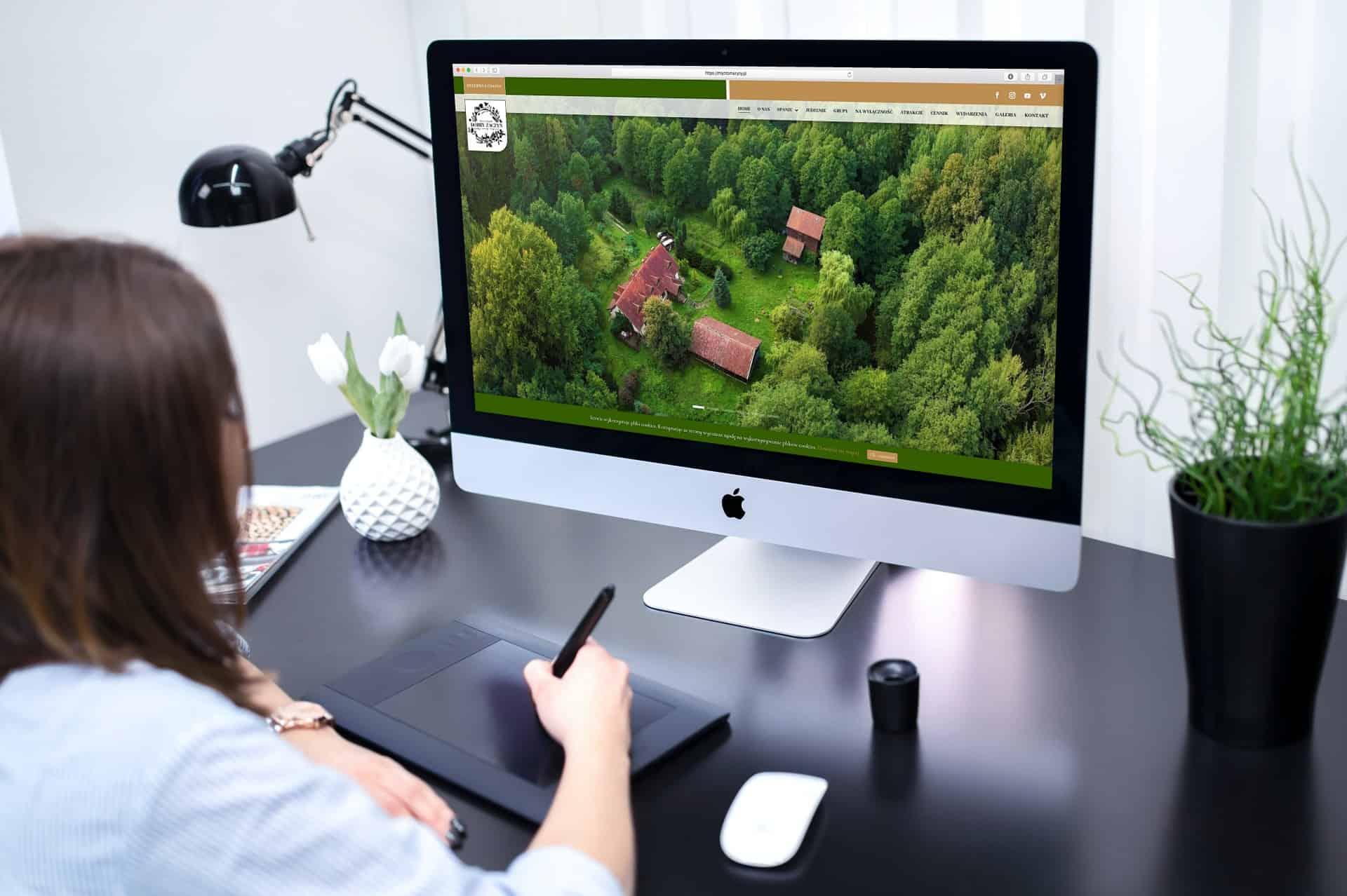 strona internetowa dla siedliska i agroturystyki - Agencja Marketingowa OzonMedia (2)