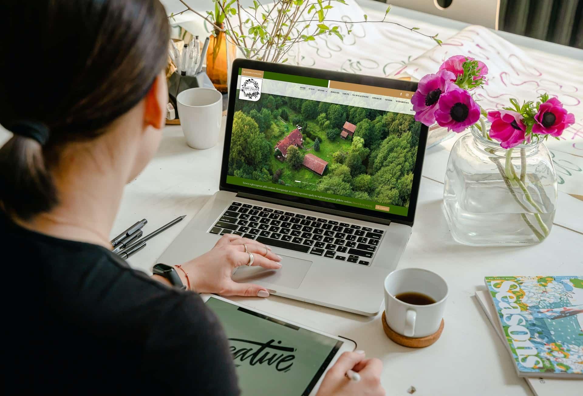 strona internetowa dla siedliska i agroturystyki - Agencja Marketingowa OzonMedia (3)
