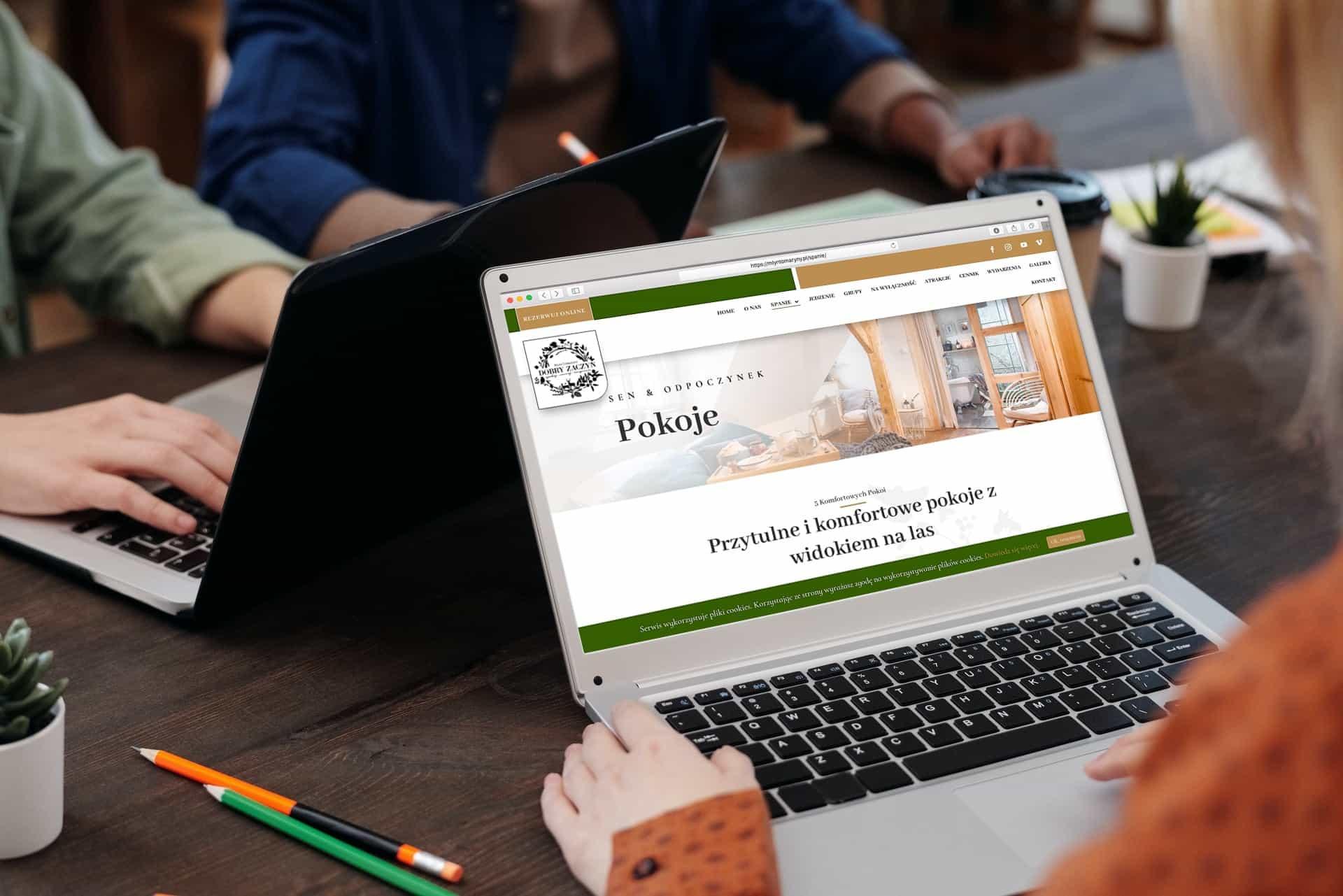 strona internetowa dla siedliska i agroturystyki - Agencja Marketingowa OzonMedia (4)