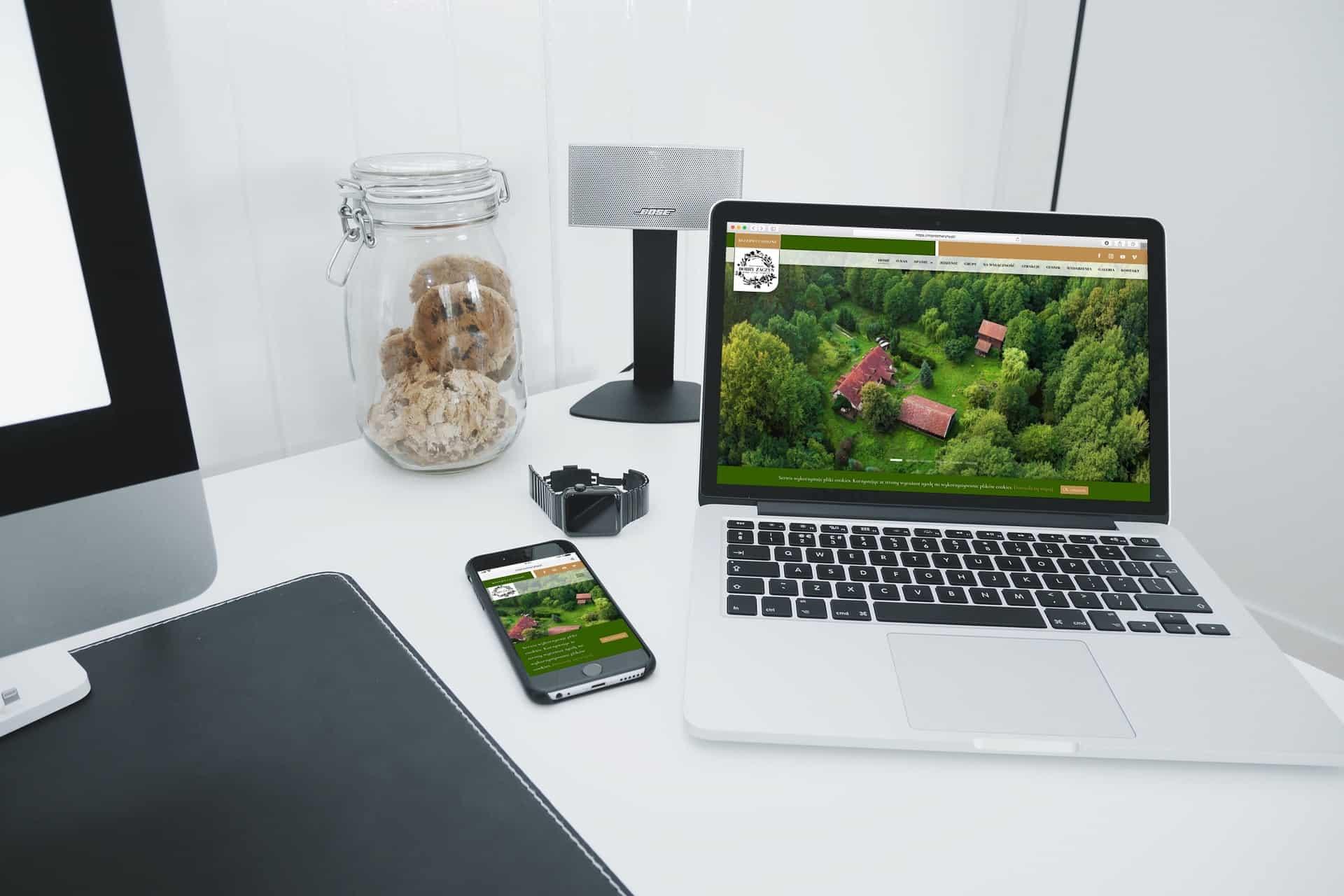strona internetowa dla siedliska i agroturystyki - Agencja Marketingowa OzonMedia (5)