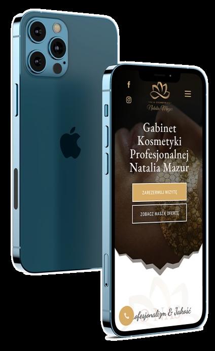 Strona Internetowa dla Gabinetu Kosmetycznego - Agencja Marketingowa OzonMedia Wroclaw (2)