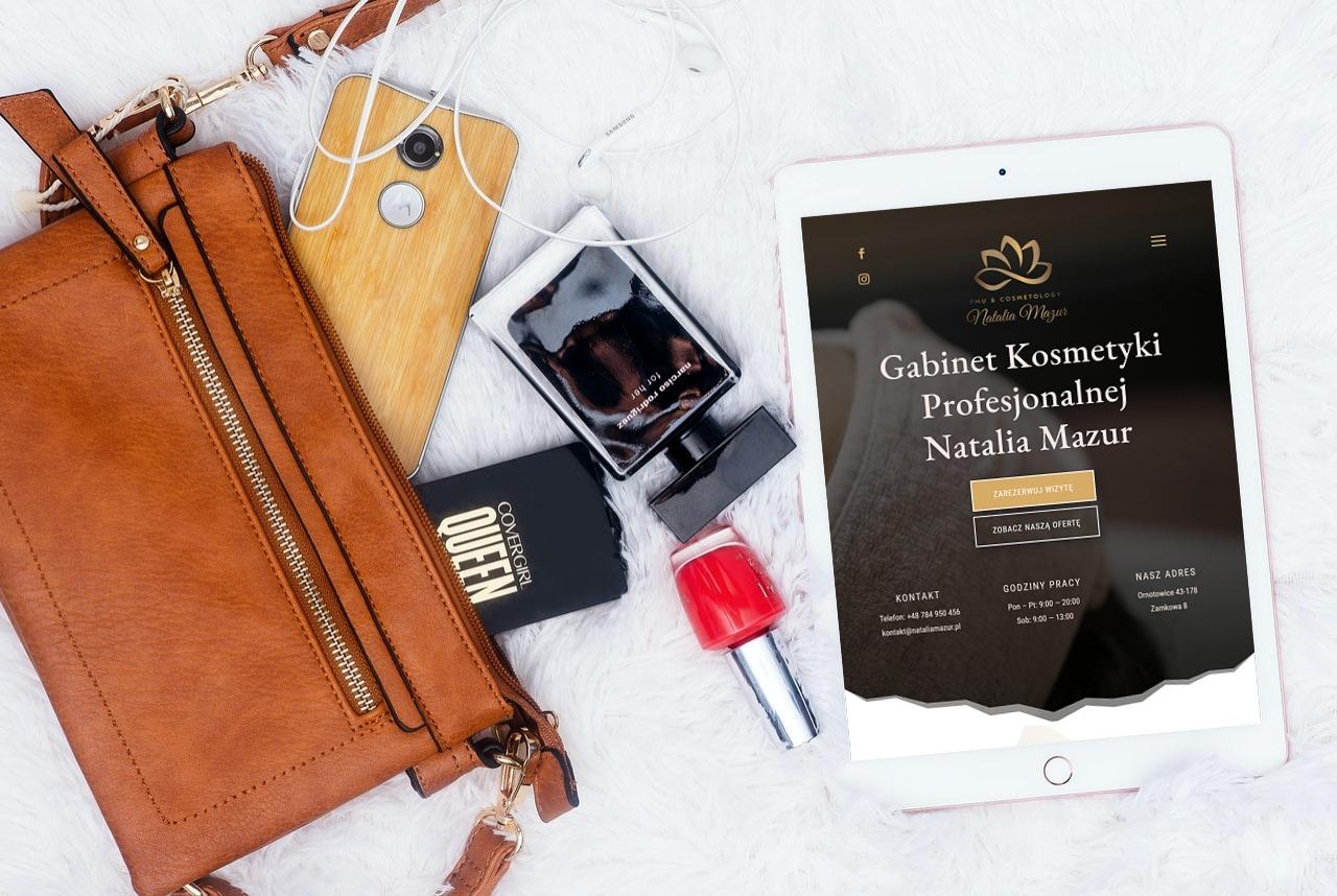 Strona Internetowa dla Gabinetu Kosmetycznego - Agencja Marketingowa OzonMedia Wrocław (4)