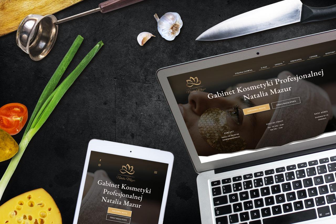 Strona Internetowa dla Gabinetu Kosmetycznego - Agencja Marketingowa OzonMedia Wroclaw (5)