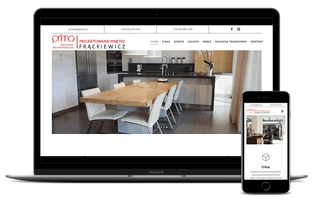 strona internetowa dla architekta - Agencja Marketingowa Ozonmedia Wrocław (1)