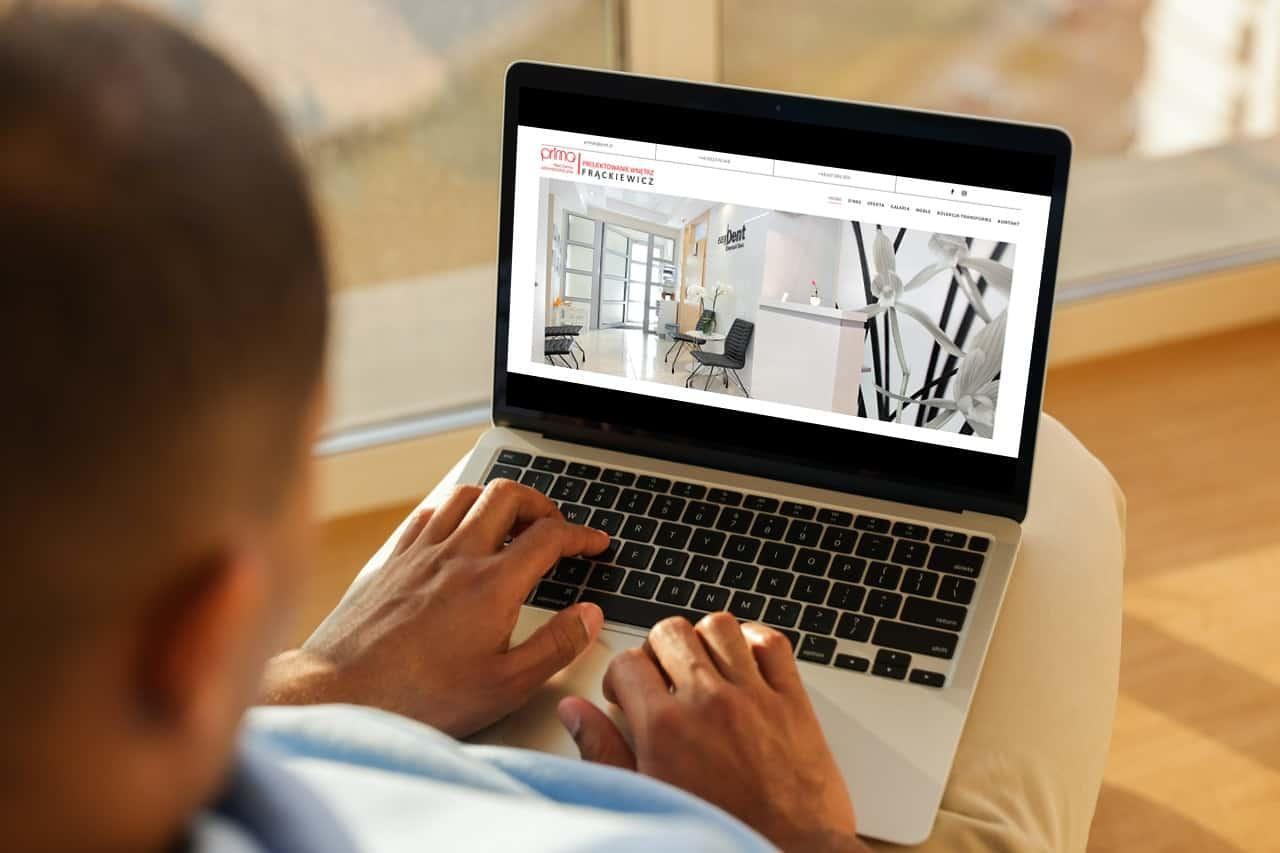 strona internetowa dla architekta - Agencja Marketingowa Ozonmedia Wrocław (4)