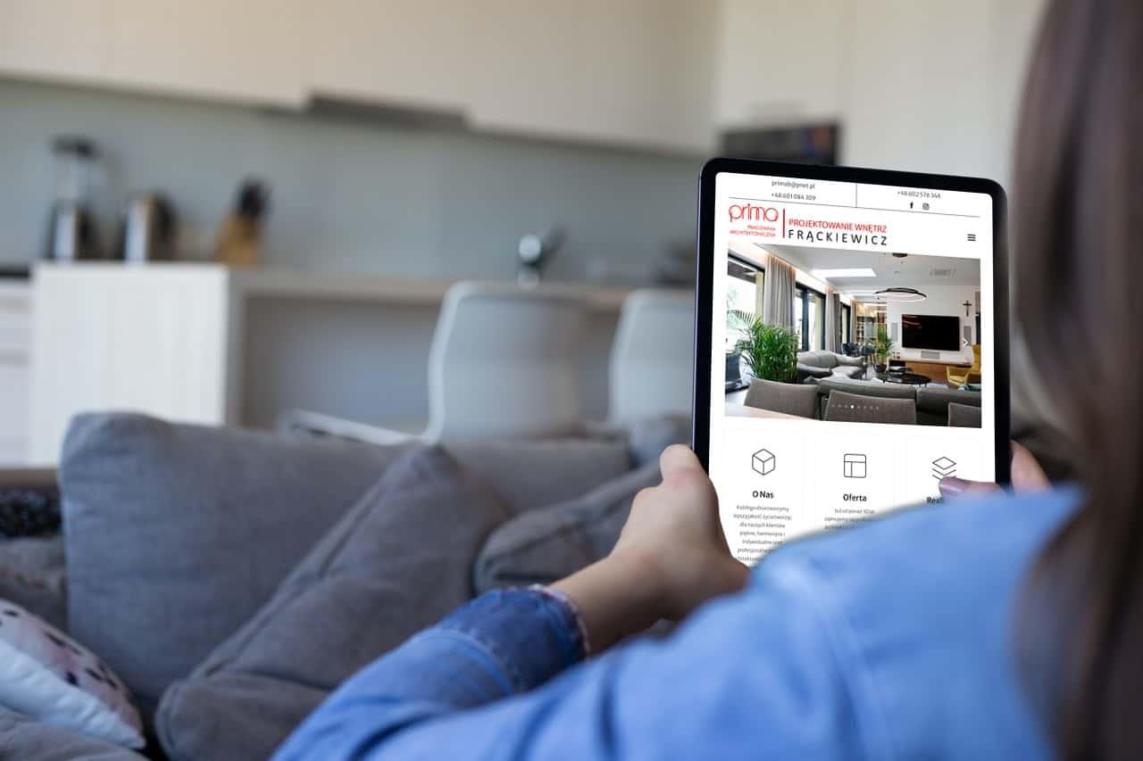 strona internetowa dla architekta - Agencja Marketingowa Ozonmedia Wrocław (5)