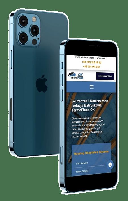 strona internetowa dla firmy z branży budowlanej - Agencja Marketingowa Wrocław (2)