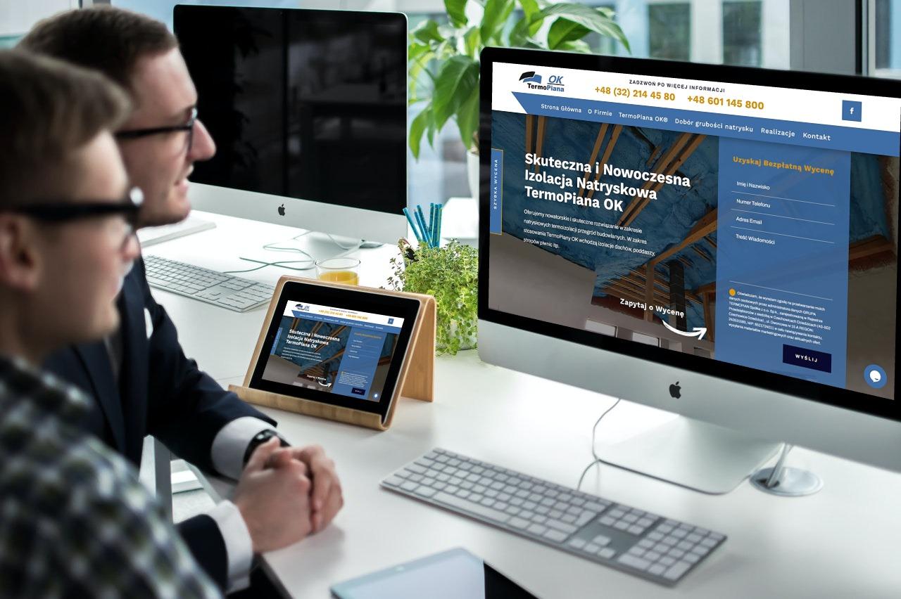strona internetowa dla firmy z branży budowlanej - Agencja Marketingowa Wrocław (4)