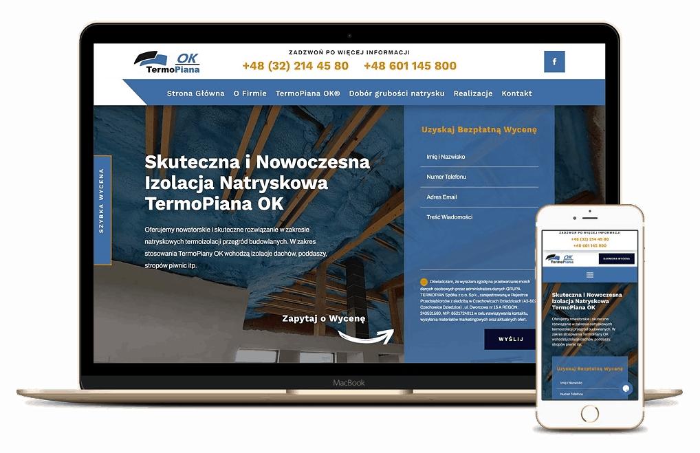 strona internetowa dla firmy z branży budowlanej - Agencja Marketingowa Wrocław (8)